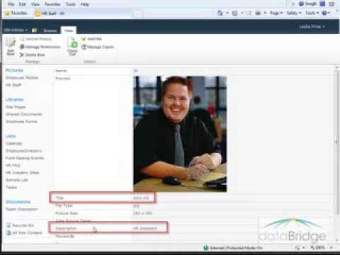 The Picture Library Slide Show Web Part in SharePoint 2010 - YouTube