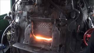 """Parowóz Pm36-02 Pociąg specjalny """"Pojezierze"""" Steam Engine Pm36-02"""