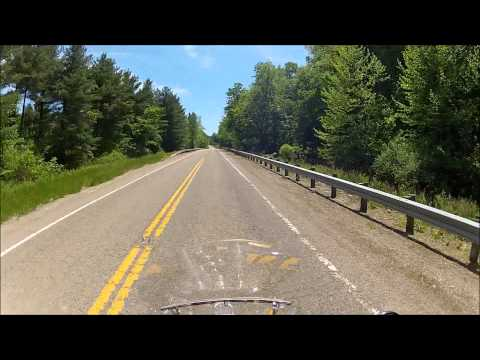 Motorcycle Riding Tour of State Route 555 South from Zanesville Ohio
