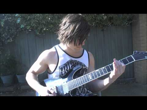 Falling In Reverse - My Apocalypse Guitar Cover (Epileptic Fingers)