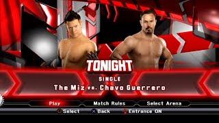 WWE SmackDown VS Raw 2009 PS3 Gameplay - The Miz VS Chavo Guerrero [60FPS][FullHD]