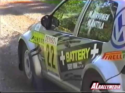 Mikko Hirvonen-Miikka Anttila VW Golf Kit car