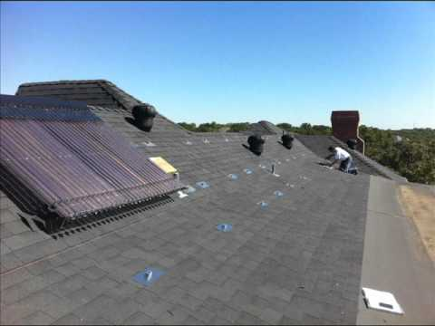 Texas Solar Power and Solar Thermal Installation