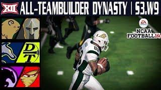 Rivalry Week!!! - NCAA Football 14 | Big 12 All-Teambuilder Dynasty | W 9 Y 3