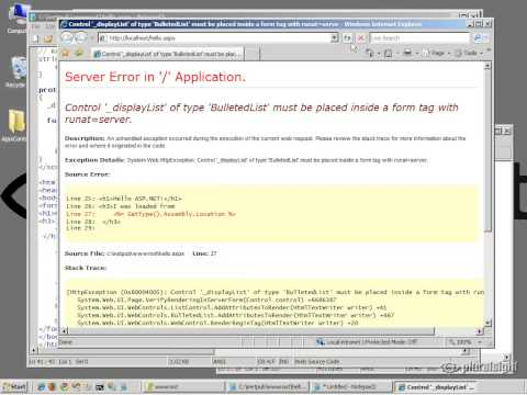 1 ASP NET Architecture
