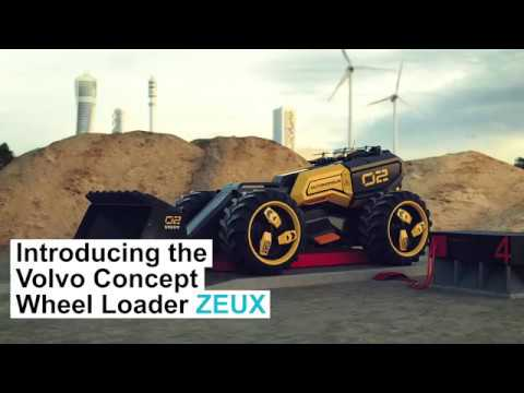 Indepth  – Volvo CE – Introducing ZEUX in collaboration with the LEGO® Group
