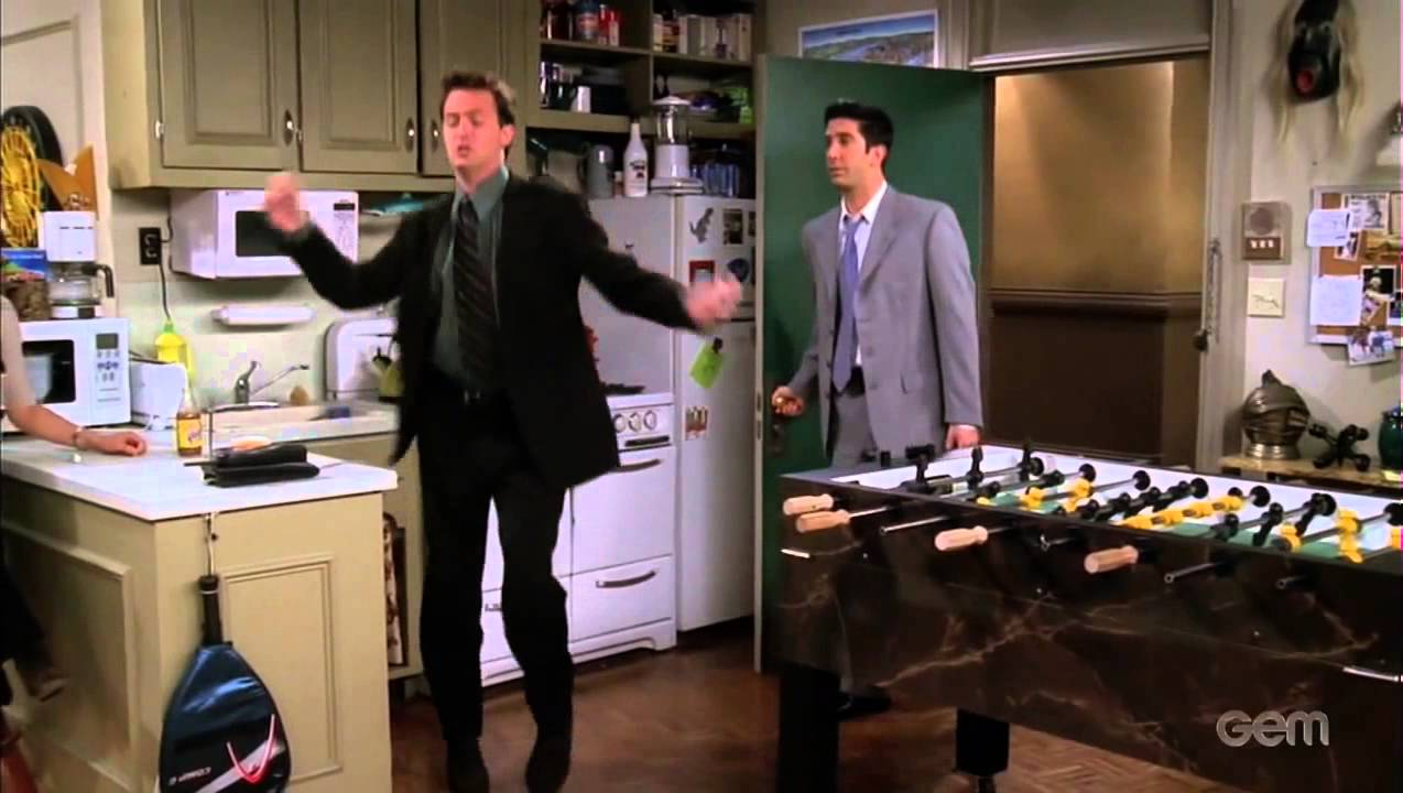 Chandler Bing Dance