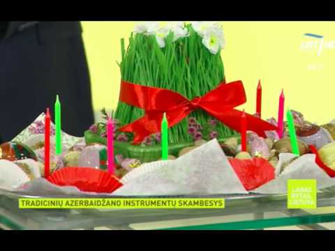 Novruz holiday in Lithuanian National Television