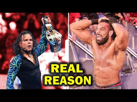 Real Reasons Why Jeff Hardy Won WWE US Championship from Jinder Mahal on RAW
