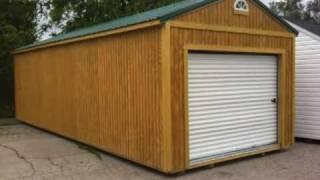 Garden Sheds Portable Buildings Prefab Garages Metal Carports Steel Structures Loft Barns