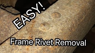 Frame Rivet Removal Mąde Easy - Lifted K2500 Build