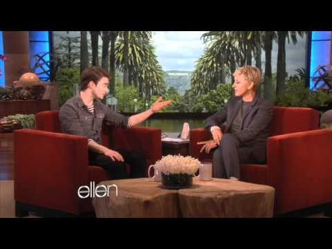 Ellen and Daniel Radcliffe's Super Bowl Bet