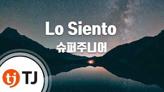 [TJ노래방] Lo Siento - 슈퍼주니어(Feat.Leslie Grace)() / TJ Karaoke