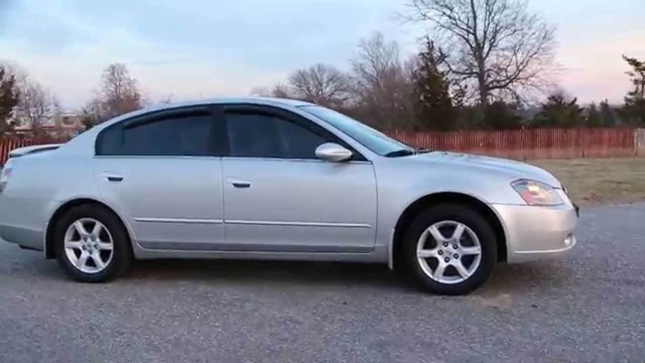 2006 nissan altima 2 5s special edition for sale auto power seat spoiler alloys youtube