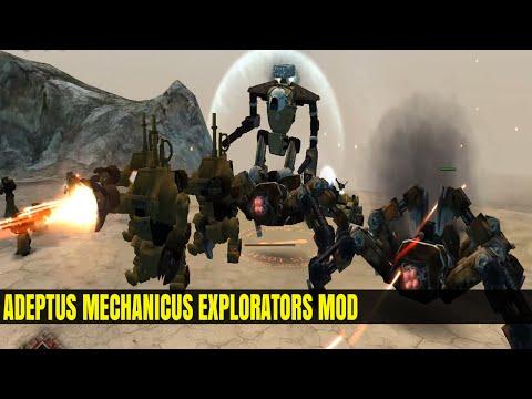 Adeptus Mechanicus Explorators Mod - Dawn Of War Soulstorm