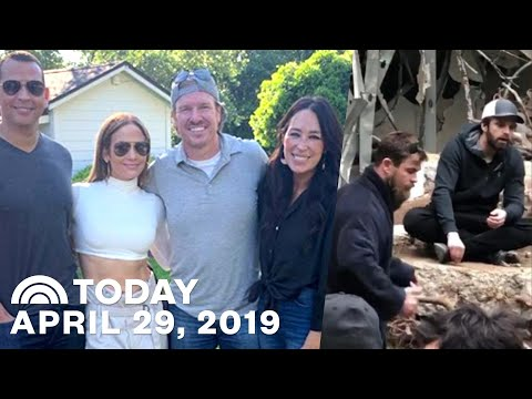 Chip And Joanna Gaines Hang With J. Lo | Chris Pratt Shares BTS Footage Of Endgame & more | TODAY