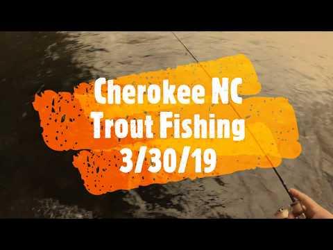 Cherokee NC Trout Fishing
