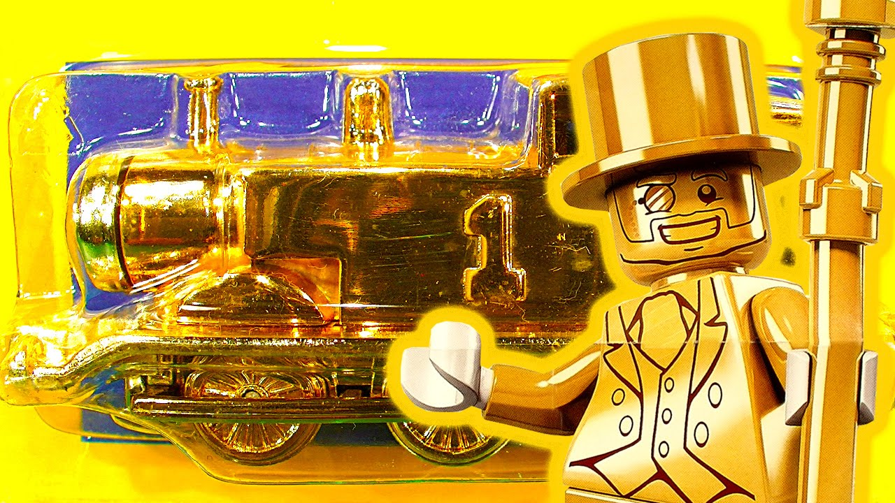 Thomas Tank Rare ERTL Gold LEGO Mr Gold Price Worth More ...