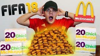 50 MC NUGGETS in 1 MINUTO!? *impossibile* - FIFA 18 vs FOOD | FUTOPOLY #15