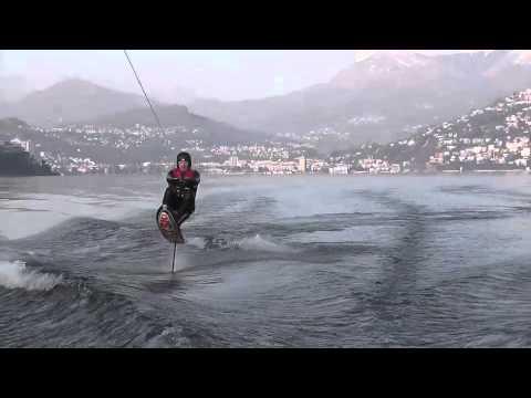Winter Hydrofoil Ride - Federico Soldati, Simone Tosi and Jared Mika