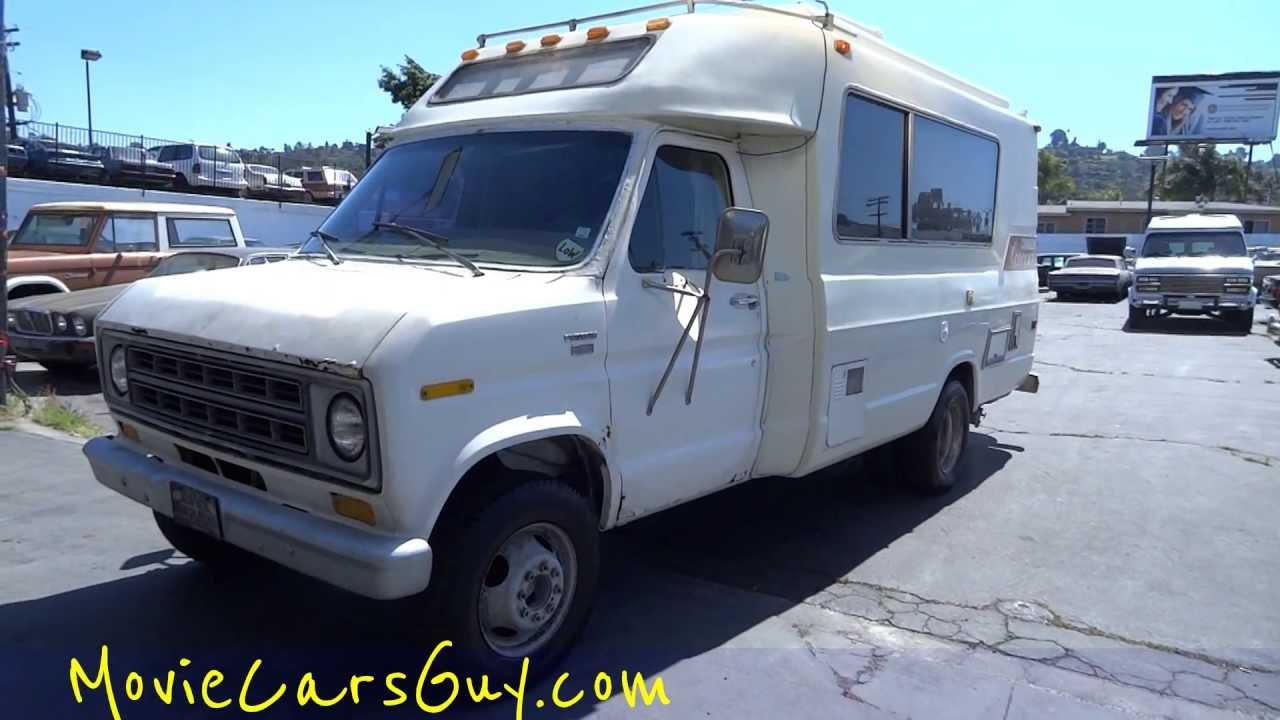 Movie Cars RV Motorhome TV Chinook Vacation Movies