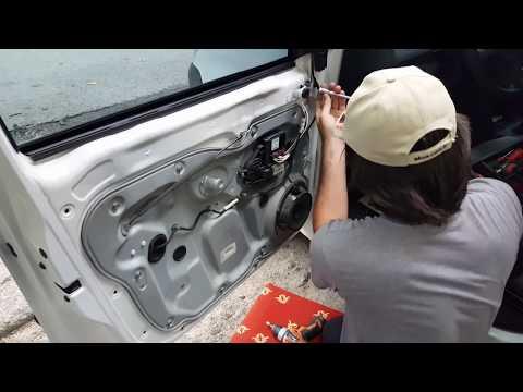 volkswagen caddy kapi kilidi tamiri (repair door lock)
