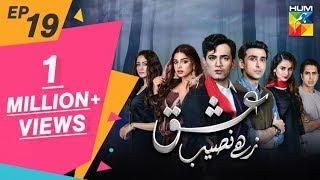Ishq Zahe Naseeb Episode 19 HUM TV Drama 25 October 2019