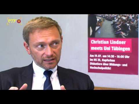 Im Gespräch mit... Christian Lindner