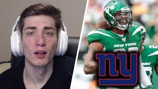 New York Giants Fan Reacts to Jets Trading Leonard Williams