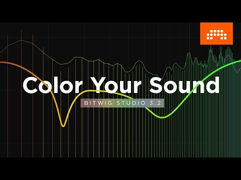 Color Your Sound – EQ+, Saturator and more in Bitwig Studio 3.2