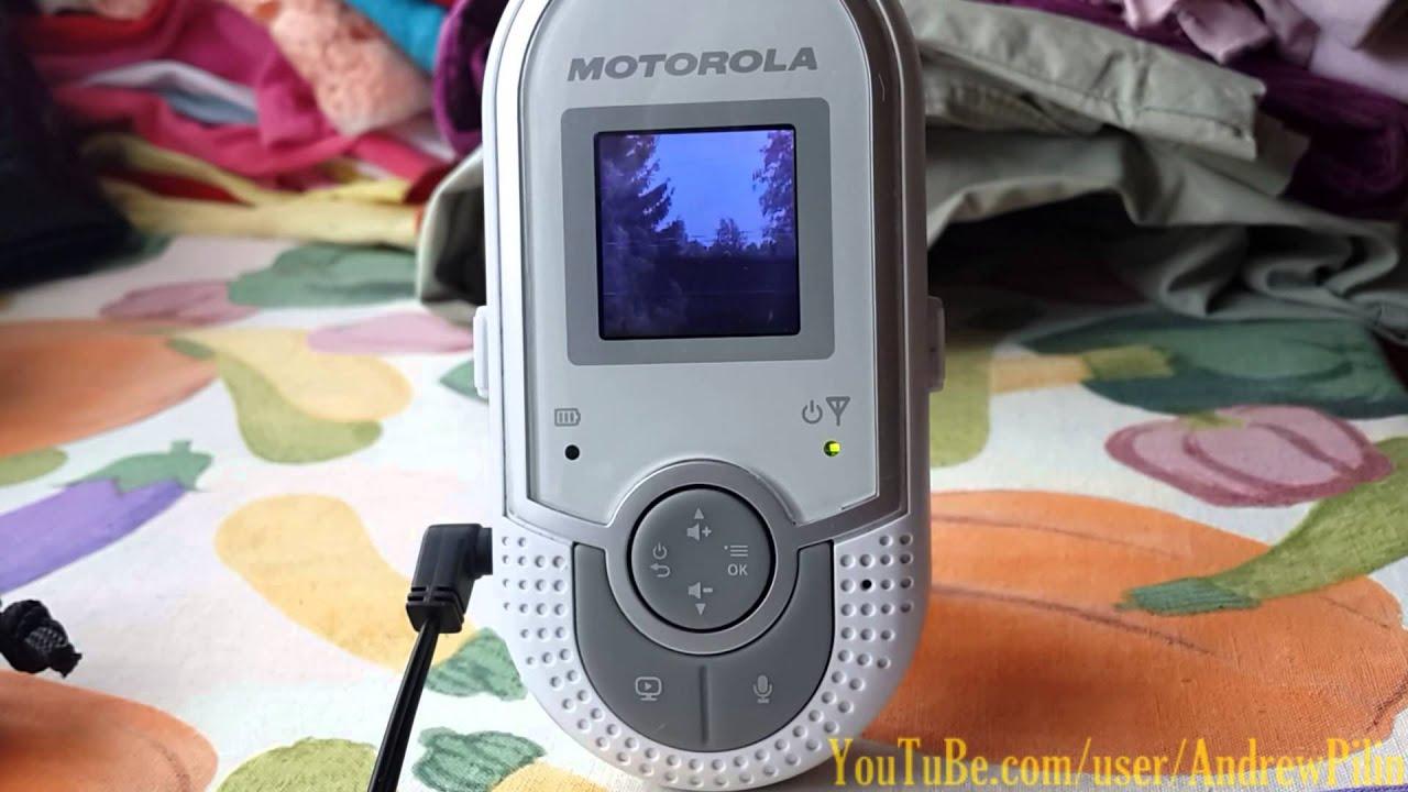 Motorola Mbp20 отзыв опыт эксплуатации видео няня радио няня Youtube