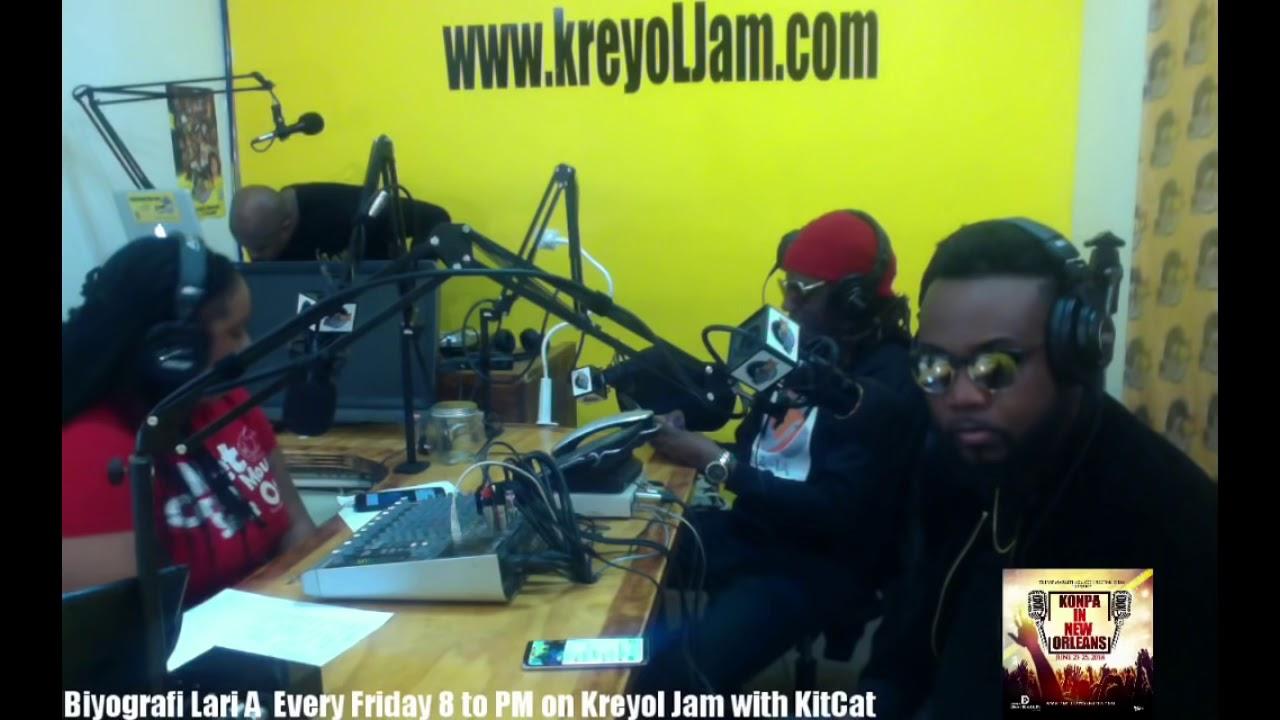 Biyografi Lari A with KitCat Guest JSuave (Cruz La) & Roody Delpe (Linkop) 1/12/18