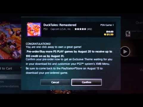DuckTales Remastered — бесплатная тема для рабочего стола при предзаказе игры