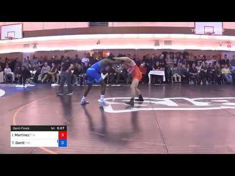 74 Kg Semifinal Isaiah Martinez Titan Mercury Wrestling Club ILLINIRTC Vs Thomas Gantt Titan Mercu