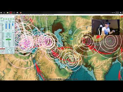 9/17/2018 -- Earthquake activity across Pacific -- Europe to Asia, USA + Americas