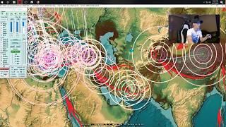 9/17/2018 -- Earthquake activity across Pacific -- Europe to Asia, USA + Americas