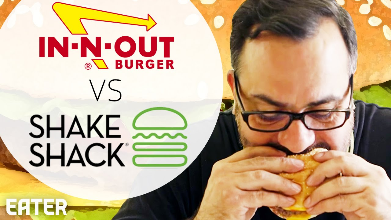 Does In N Out Or Shake Shack Make A Better Burger Youtube