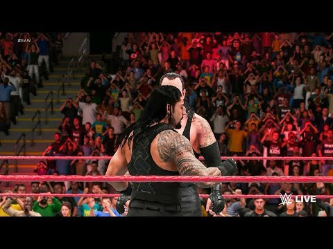 Roman Reigns vs Samoa Joe - Intercontinental Championship - WWE 2K18 thumbnail