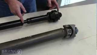 Bronco Graveyard Driveshaft Tech
