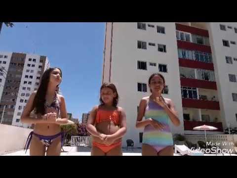 Desafio da piscina!!❤😙🔝