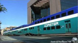Coaster Trains in San Diego