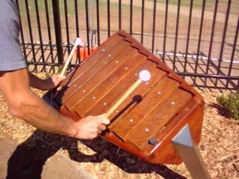 8 keys Accessible marimba Kim Bowman Music
