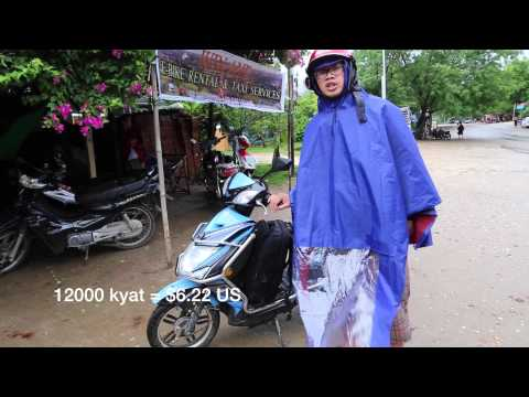 Tips on renting an Ebike in Bagan Myanmar (Burma)