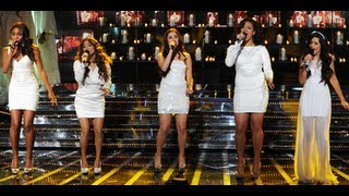 "Fifth Harmony ""Let It Be"" - Live Week 8: Final - The X Factor USA 2012"