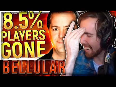 "Asmongold Reacts to ""Blizzard Just LOST 8.5% Of Their Players"" by Bellular"