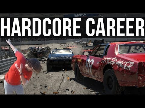 Wreckfest - Thicc Brit POUNDS Unsuspecting Victims | Max Difficulty/Damage