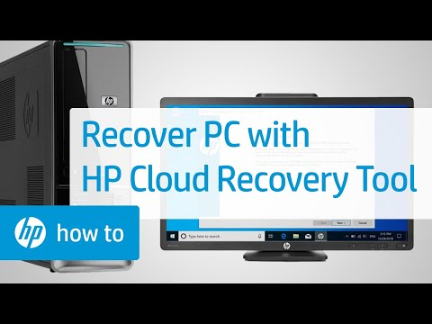 Recover Your Computer Using the HP Cloud Recovery Tool | HP Computers | HP