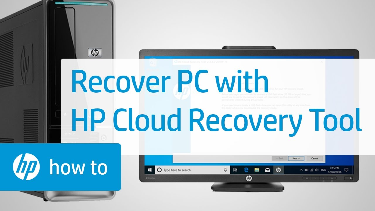 Que es recovery manager hp