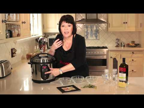 Tefal Minut' Cook Electric Pressure Cooker - Demo