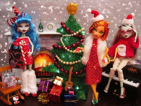 Monster High The ghosts of Christmas Stop Motion - Monster High The Ghosts Of Christmas Stop Motion - YouTube